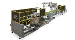 Automatic Case Packing Machine System